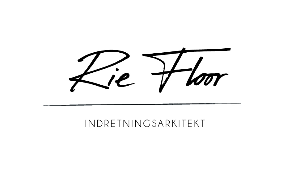 Logo indretningsarkitekt RIE FLOOR